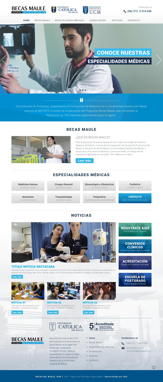 Becas UCM web