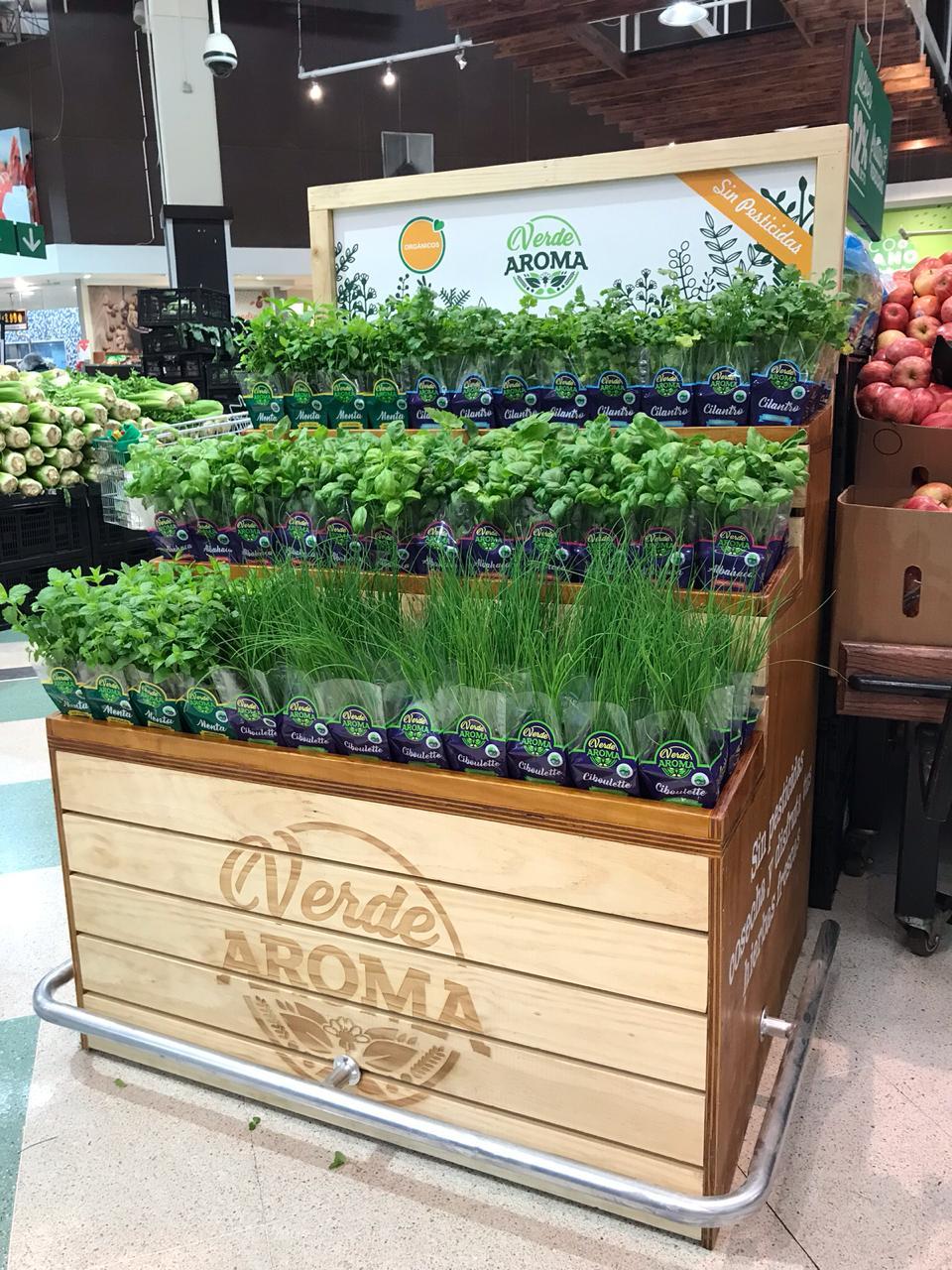 verde aroma gondola
