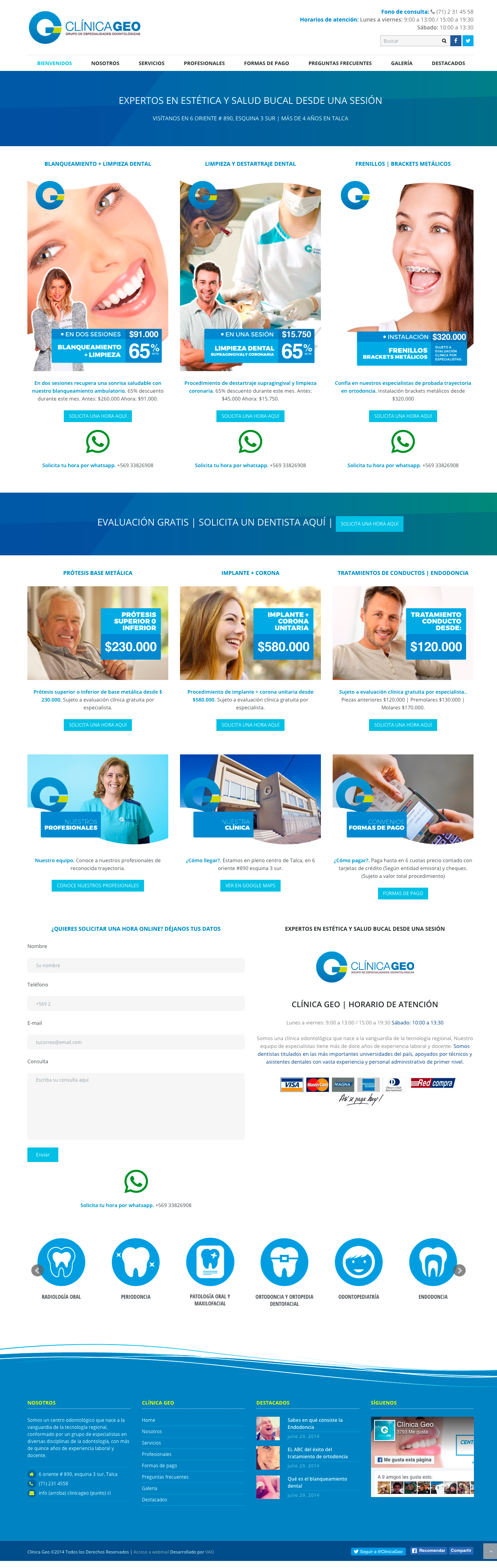 clinica geo web