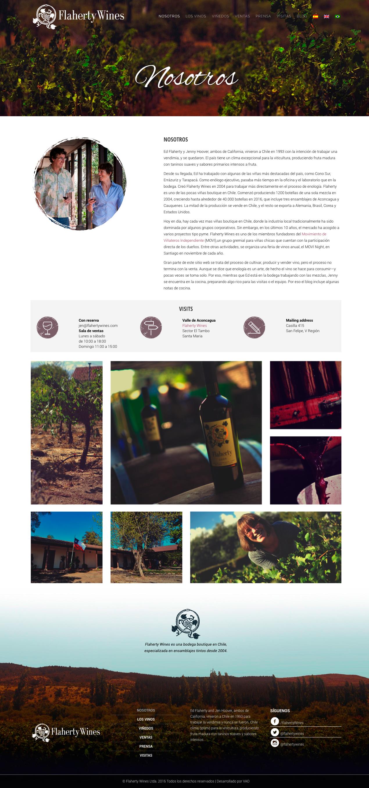 flaherty wines web
