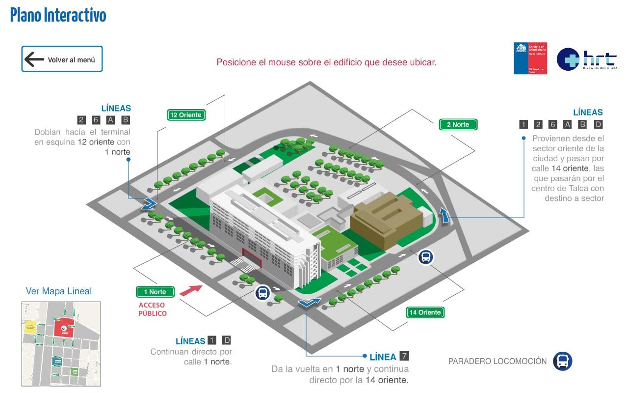 mapa hospital 1