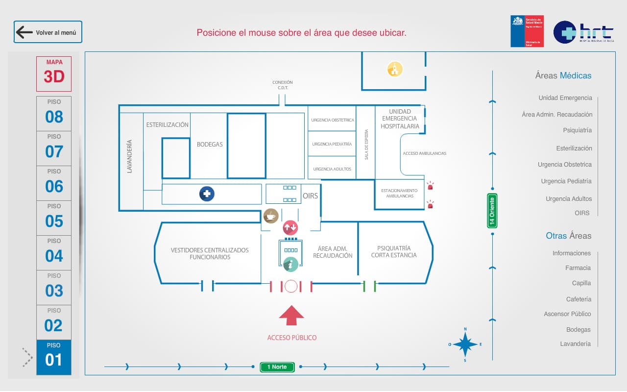 mapa hospital 4