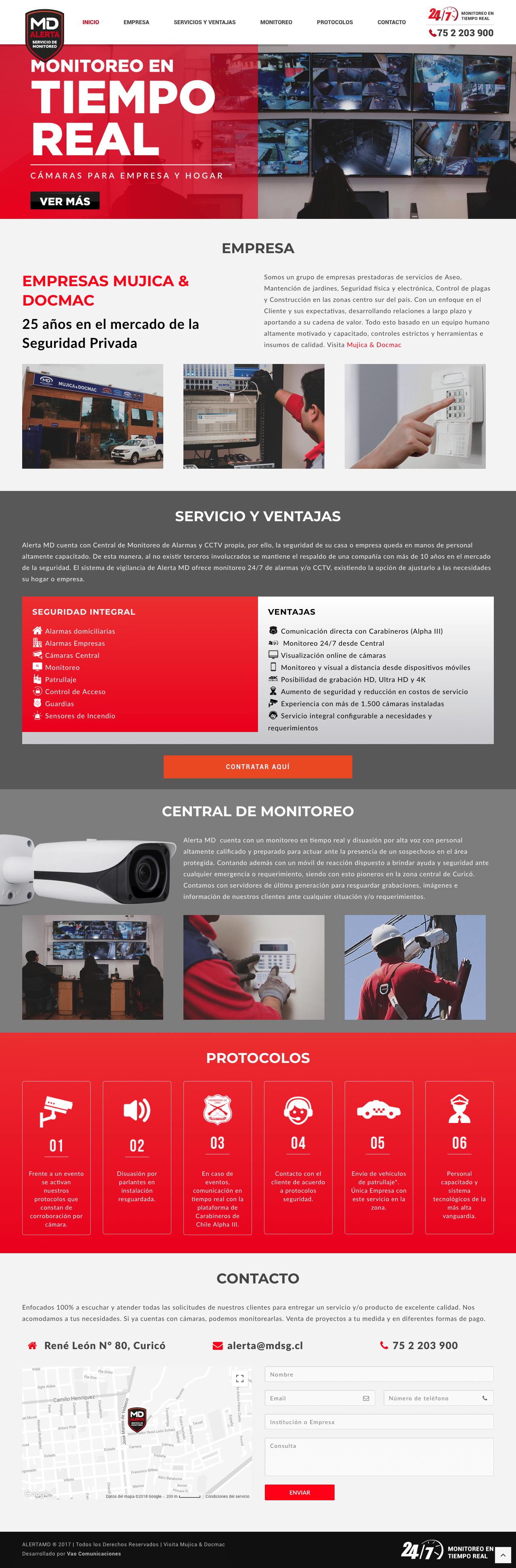 alerta MD web